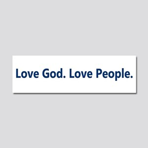 Just Love Car Magnet 10 x 3